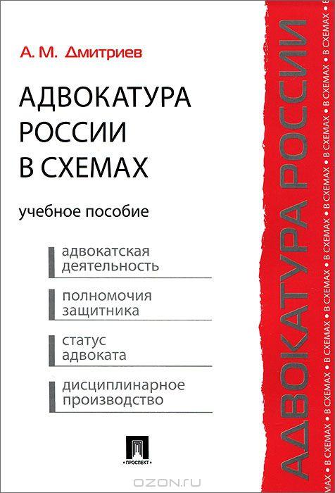Адвокатура России в схемах