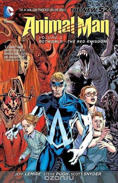 Animal Man Vol. 3: Rotworld: The Red Kingdom (The New 52)