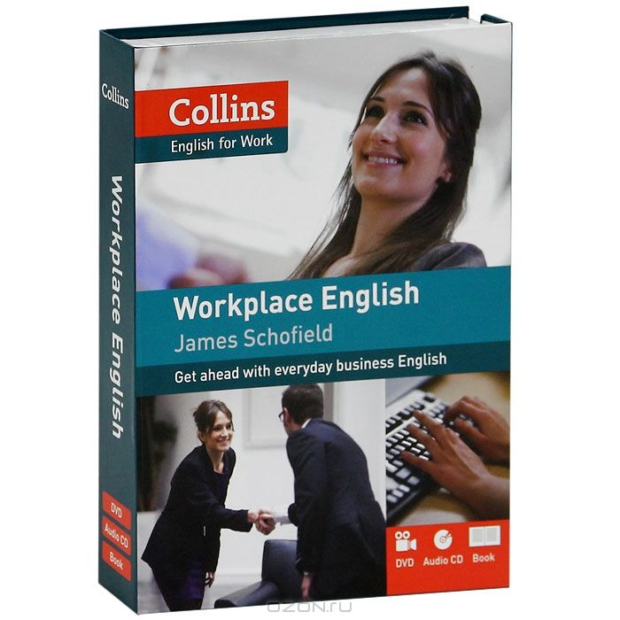 Collins Workplace English (+ CD-ROM, + DVD-ROM)