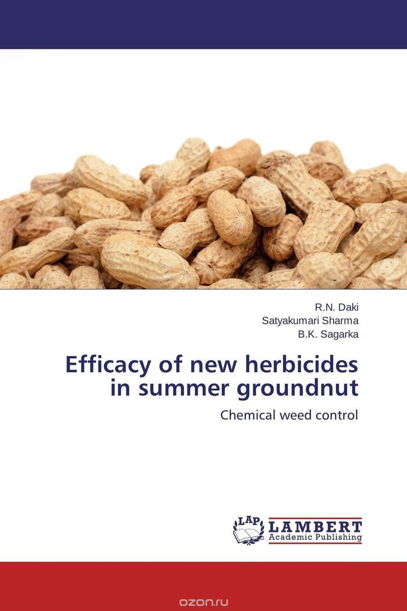 Efficacy of new herbicides in summer groundnut