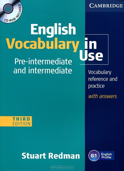 English Vocabulary in Use: Pre-Intermediate and Intermediate (+ CD-ROM)