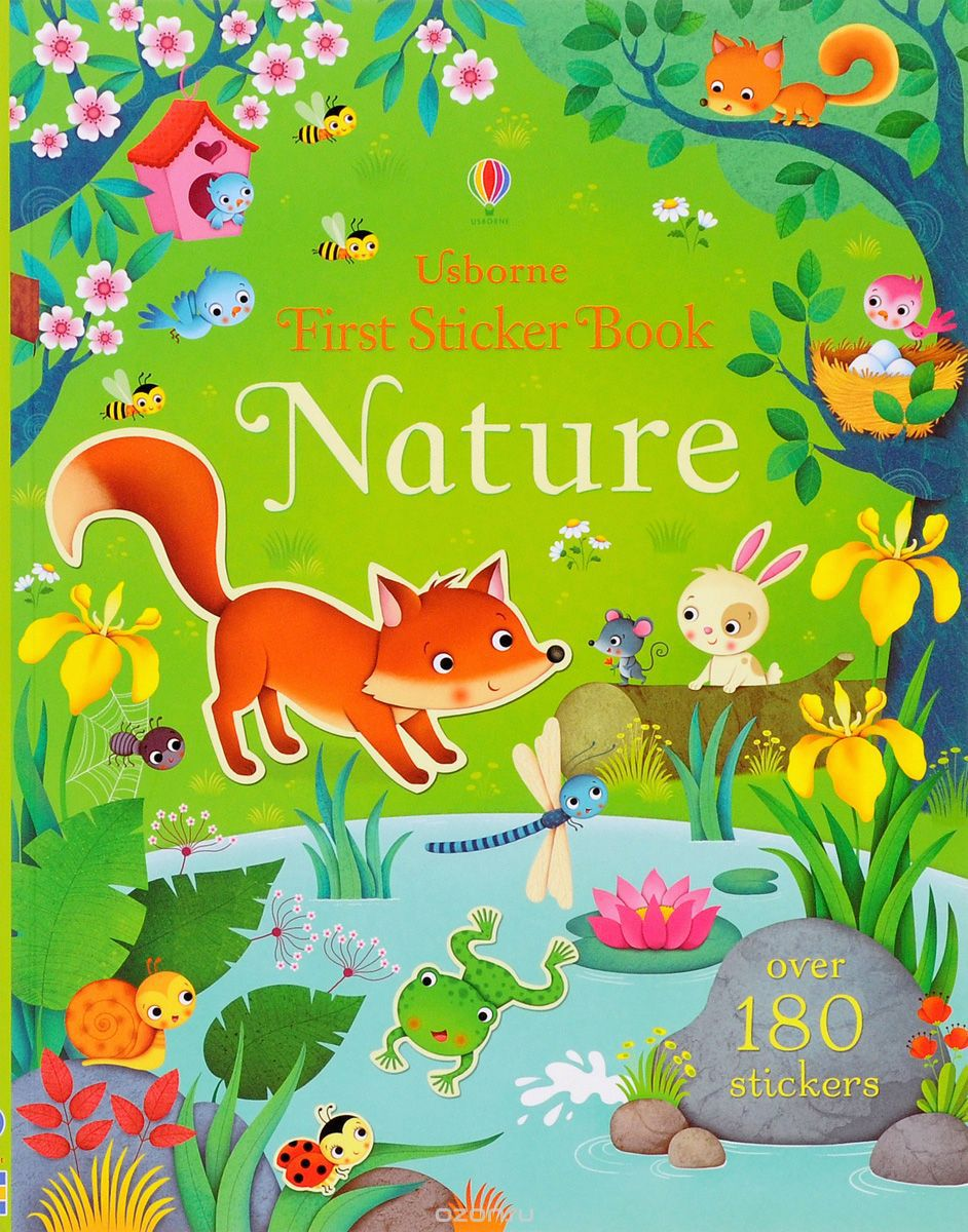 First Sticker Book Nature (180 stickers)
