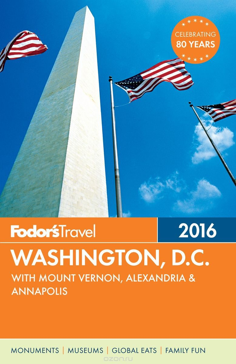 FODOR WASHINGTON D.C. 2016