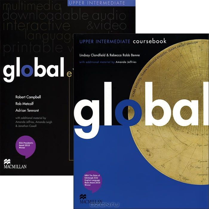 Global Upper Intermediate: Coursebook with eWorkbook Pack (+ DVD-ROM)