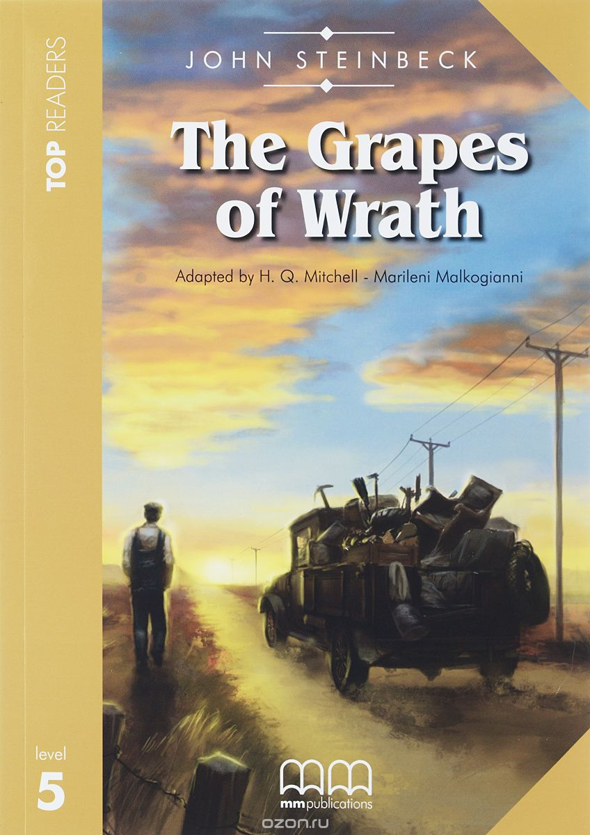 Grapes of Wrath: Student's Book: Level 5 (+ CD)