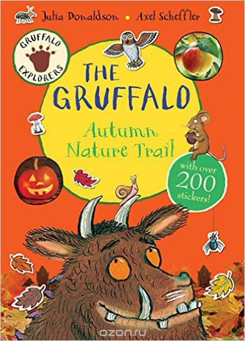 Gruffalo Explorers: The Gruffalo Autumn Nature Trail (+ стикеры)