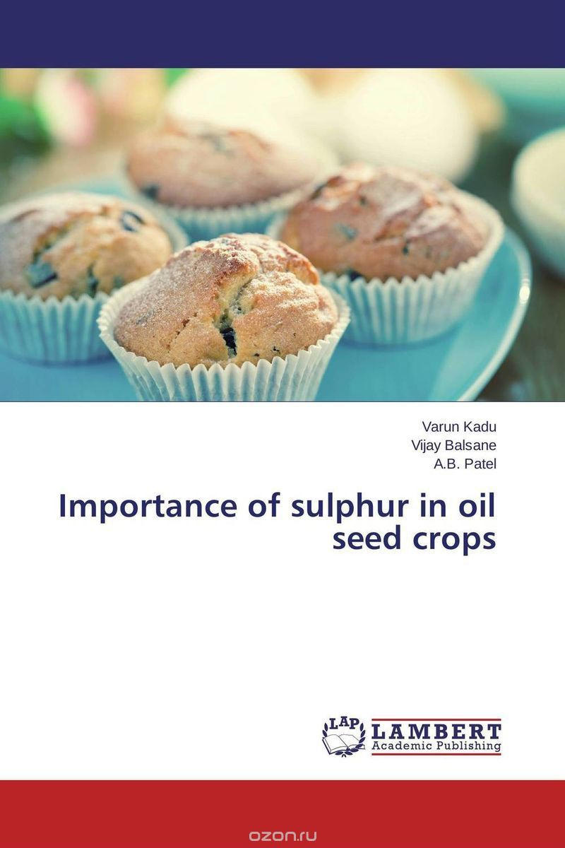 Importance of sulphur in oil seed crops