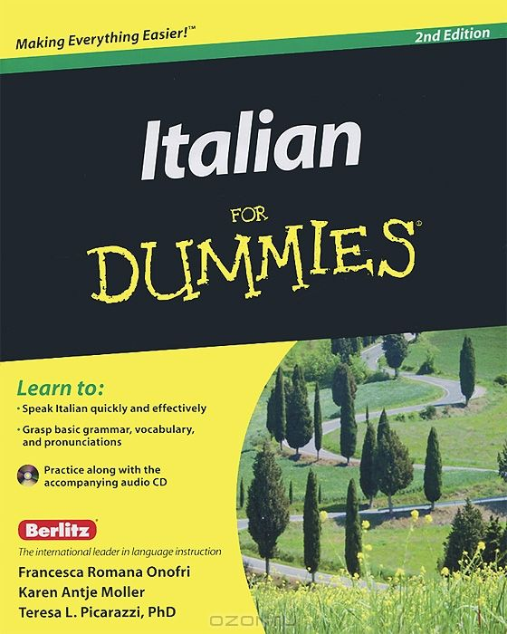 Italian For Dummies (+ CD-ROM)
