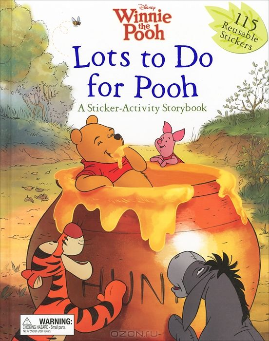 Lots to do for Pooh