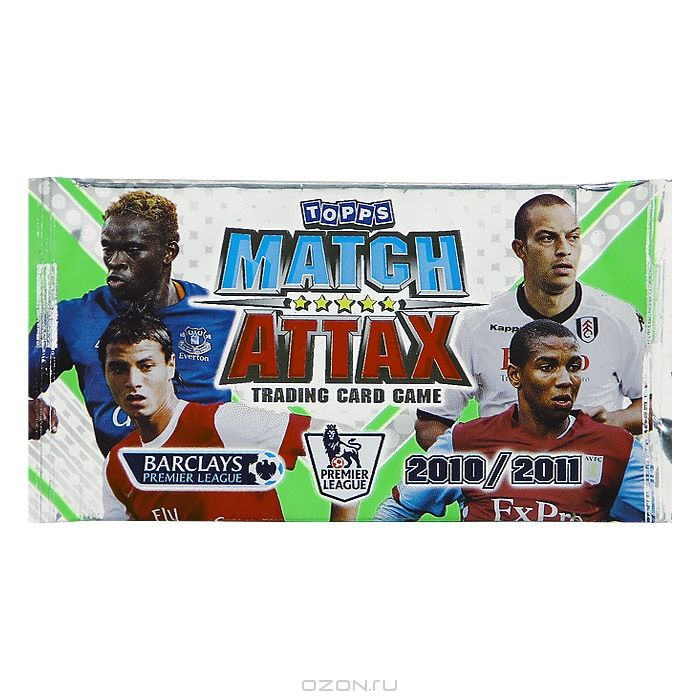 Match Attax 2010/2011 (набор карточек)