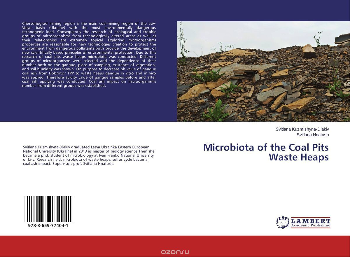 Microbiota of the Coal Pits Waste Heaps