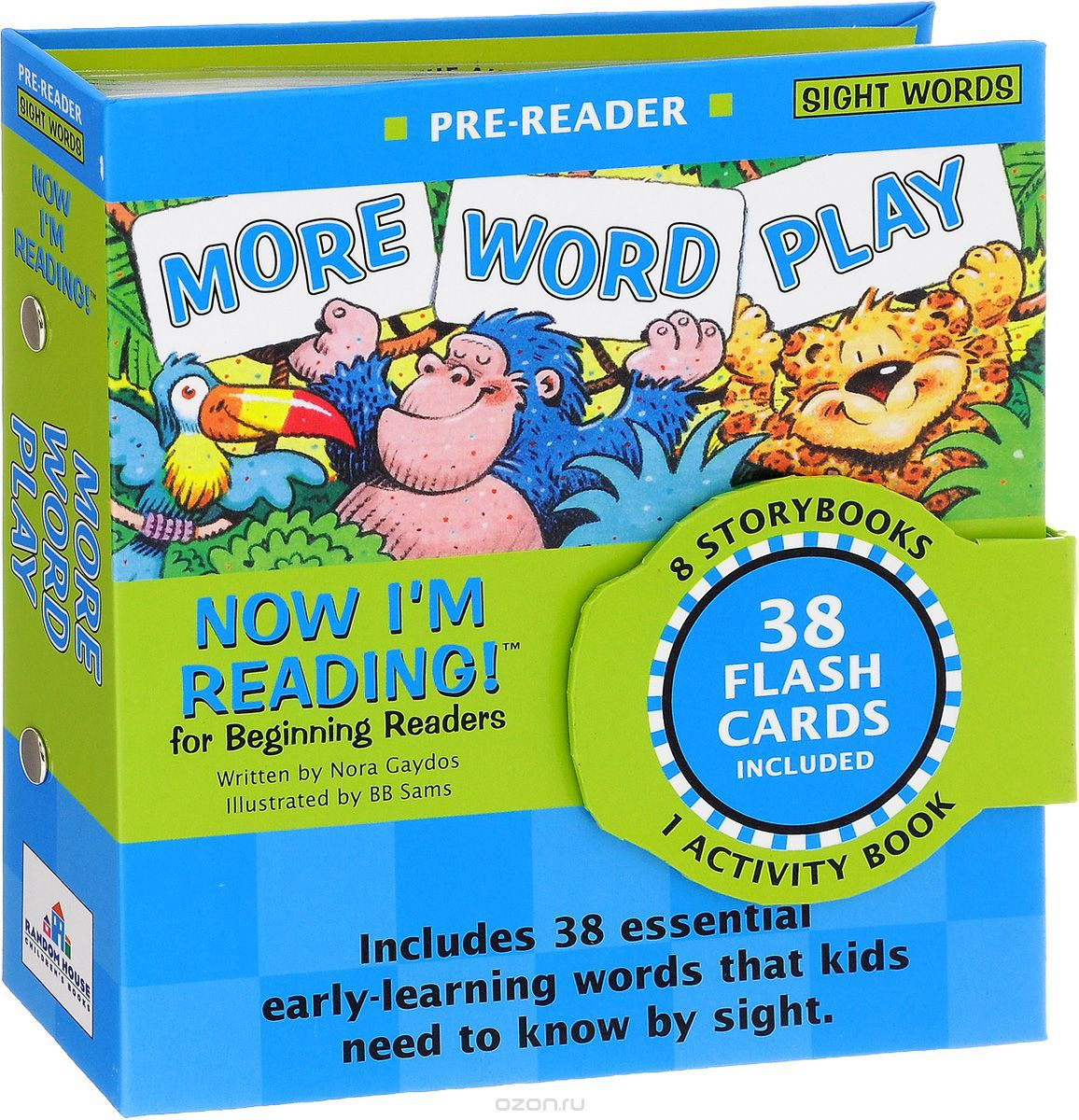 Now I'm Reading!: TNow I'm Reading! Pre-Reader: More Word Play he Best Of Phonics And Literature