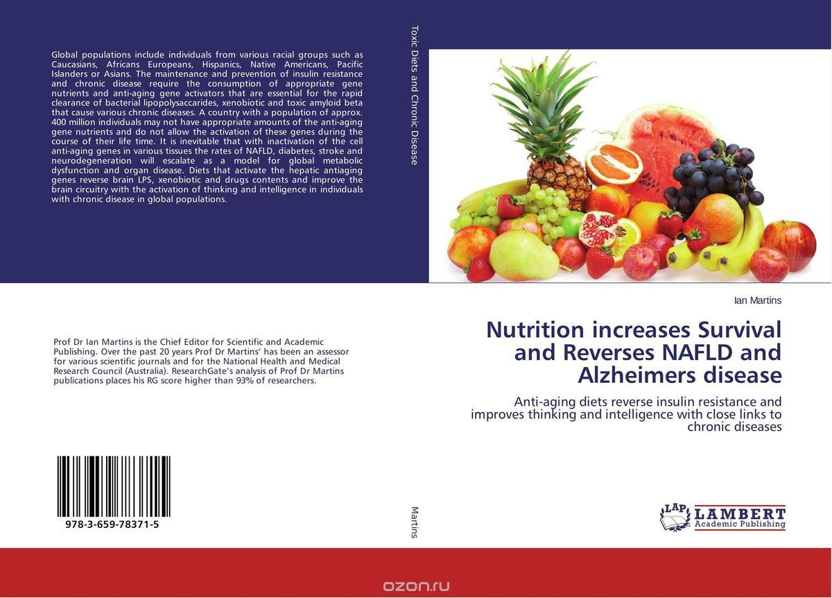 Nutrition increases Survival and Reverses NAFLD and Alzheimers disease