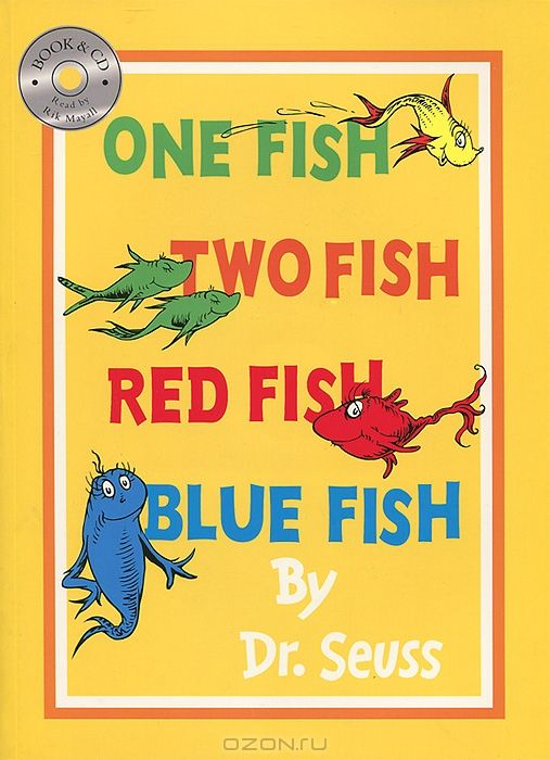 One Fish, Two Fish, Red Fish, Blue Fish (+ CD-ROM)