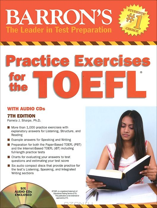 Practice Exercises for the Toefl (+ 6 CD-ROM)