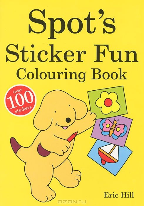 Spot's: Sticker Fun: Colouring Book