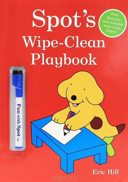 Spot's Wipe-Clean Playbook (+ маркер)