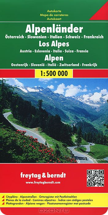 The Alps Austria Slovenia ItalySwitzerland France Road