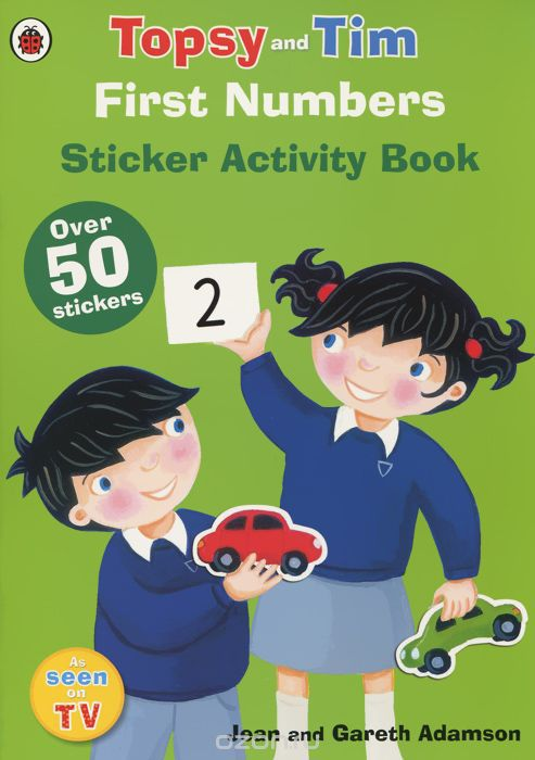 Topsy and Tim: First Numbers: Sticker Activity Book (+ наклейки)
