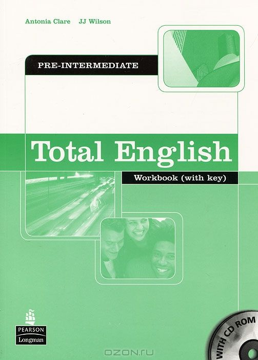 Total English: Pre-Intermediate: Workbook: With Key (+ CD-ROM)