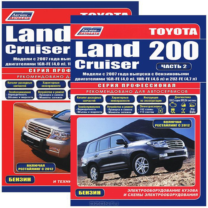 Toyota Land Cruiser 200.