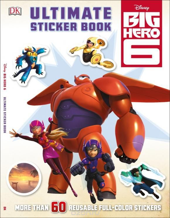 Ultimate Sticker Book: Big Hero 6